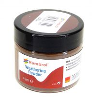 Humbrol AV0017 - Pigment Weathering Powder Dark Earth, 45 ml